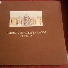 Libros: LIBRO FABRICA REAL DE TABACOS DE SEVILLA ELENA IGLESIAS 1992. Lote 252691115