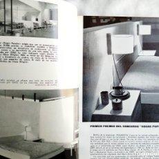 Libros: 1963 - AÑO COMPL. - HOGAR Y ARQUITECTURA - UVAS ORCASITAS CANILLEJAS VALLECAS PAN BENDITO FUENCARRAL. Lote 252994850