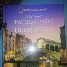 Libros: ATLAS VISUAL NATIONAL GEOGRAPHIC. PATRIMONIO DE LA HUMANIDAD TOMO I EUROPA: ITALIA-VATICANO-MALTA. Lote 254083485