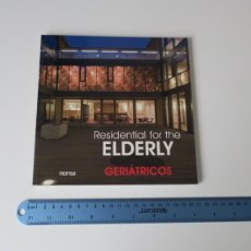 Libros: RESIDENTIAL FOR THE ELDERLY GERIATRICOS. Lote 255337575