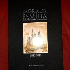Libros: SAGRADA FAMILIA DE TEMPLE EXPIATORI A BASILICA 1882-2010. Lote 261128755