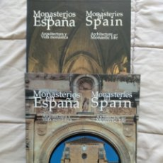 Libros: MONASTERIOS EN ESPAÑA LUNWERG. Lote 261200350