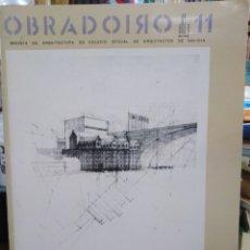 Libros: REVISTA DE ARQUITECTURA OBRADOIRO 11-1985-GALICIA. Lote 263251875
