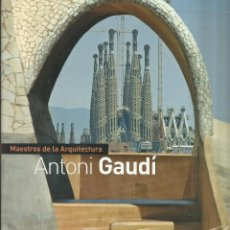 Libros: MAESTROS DE LA ARQUITECTURA / ANTONIO GAUDÍ.. Lote 268455899