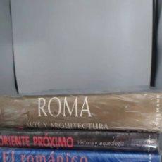 Libros: 6 LIBROS ARTE Y ARQUITECTURA KÖNEMANN. Lote 270005478