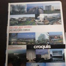 Libros: CROQUIS/LAS MEJORES OBRAS DE PRINCIPIOS DE SIGLO. Lote 271395138