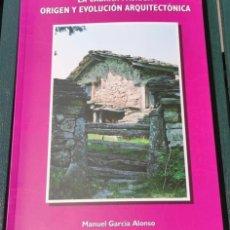 Libros: LA CABAÑA PANIEGA ORIGEN Y EVOLUCIÓN ARQUITECTÓNICA. Lote 286569518