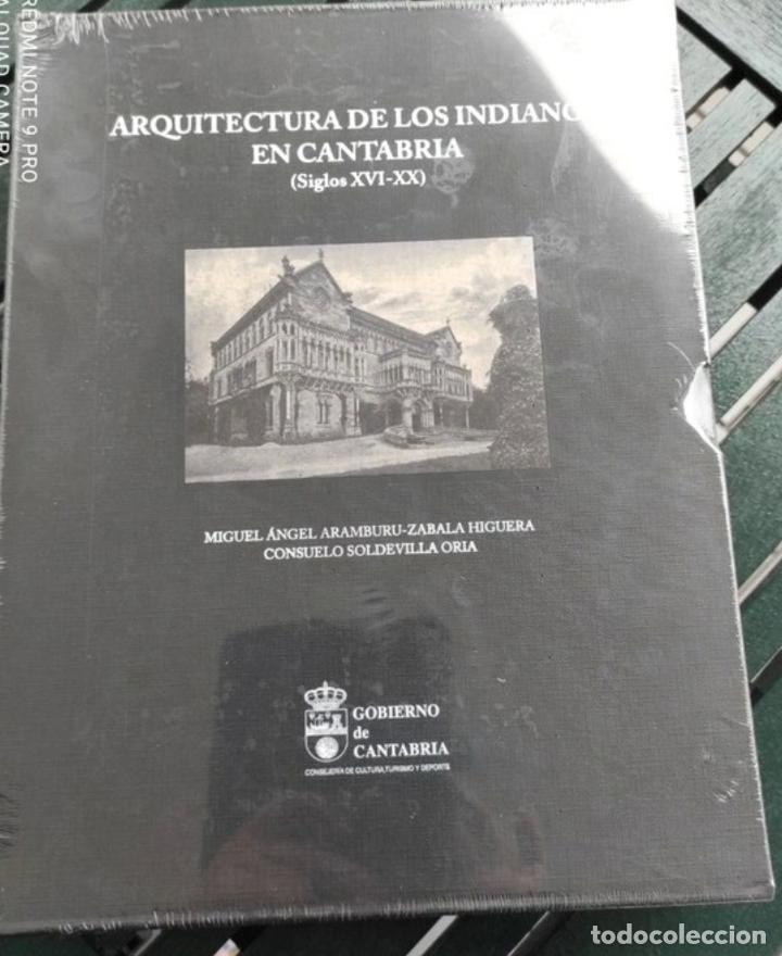 ARQUITECTURA DE LOS INDIANOS EN CANTABRIA, 2 VOLÚMENES (Libros Nuevos - Bellas Artes, ocio y coleccionismo - Arquitectura)
