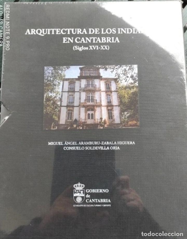 Libros: Arquitectura de los Indianos en Cantabria, 2 volúmenes - Foto 2 - 286826618