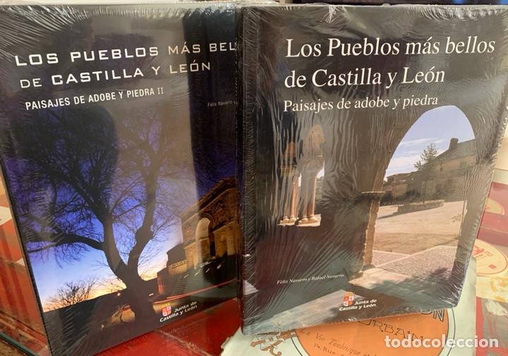 LOS PUEBLOS MÁS BELLOS DE CASTILLA Y LEÓN. PAISAJES DE ADOBE Y PIEDRA I Y II (Libros Nuevos - Bellas Artes, ocio y coleccionismo - Arquitectura)
