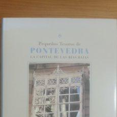 Libros: PEQUEÑOS TESOROS DE PONTEVEDRA. Lote 291002913