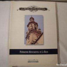 Libros: LA RIOJA MONUMENTAL. PATRIMONIO MONUMENTAL DE LA RIOJA. EDITA DIARIO LA RIOJA. AÑO 1999. NUEVO. Lote 292137338