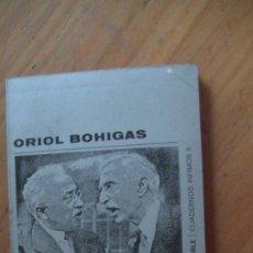 Libros: ARQUITECTURA ESPAÑOLA DE LA SEGUNDA REPÚBLICA. ORIOL BOHIGAS. TUSQUETS 1973. Lote 294163168