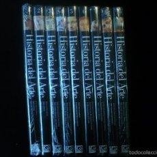 Libros: HISTORIA DEL ARTE - 10 TOMOS FALTA EL 9, PRECINTADOS. Lote 56894466
