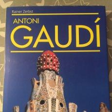 Libros: ANTONI GAUDÍ. RAINER ZERBST. TASCHEN. IDIOMA SUECO. 1985. Lote 87242667