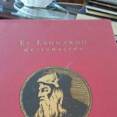 Libros: LIBRO EL LEONARDO DESCONOCIDO 310 PAGINAS. Lote 91277325