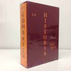 Libros: LA HISTORIA DEL ARTE. E.H. GOMBRICH. LIBRO NUEVO. EDICIÓN DE LUJO DE PHAIDON. Lote 97989119