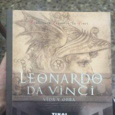 Libros: LEONARDO DA VINCI. VIDA Y OBRA. Lote 103729687
