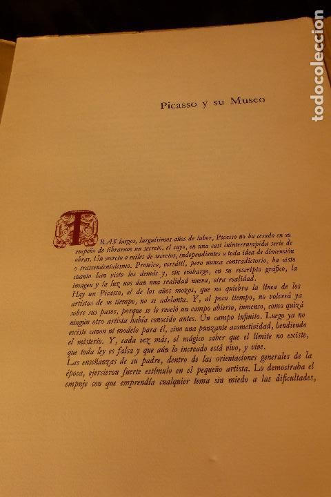 Libros: PICASSO Y SU MUSEO DE JOSE SELVA VIVES - Foto 9 - 104122463