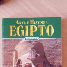 Libros: ARTE E HISTORIA EGIPTO. Lote 104423983