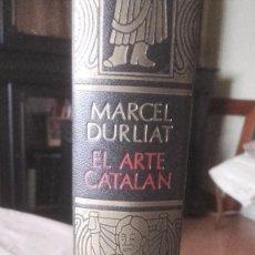 Libros: EL ARTE CATALAN. Lote 105336543