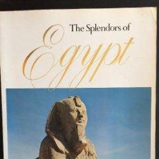 Libros: DOS LIBROS FORMATO DIN A3 DE MARAVILLAS DE TUTANKHAMUN Y ESPLENDORES DE EGIPTO ( EN INGLÉS). Lote 108802819
