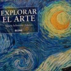 Libros: EXPLORAR EL ARTE. Lote 112240759