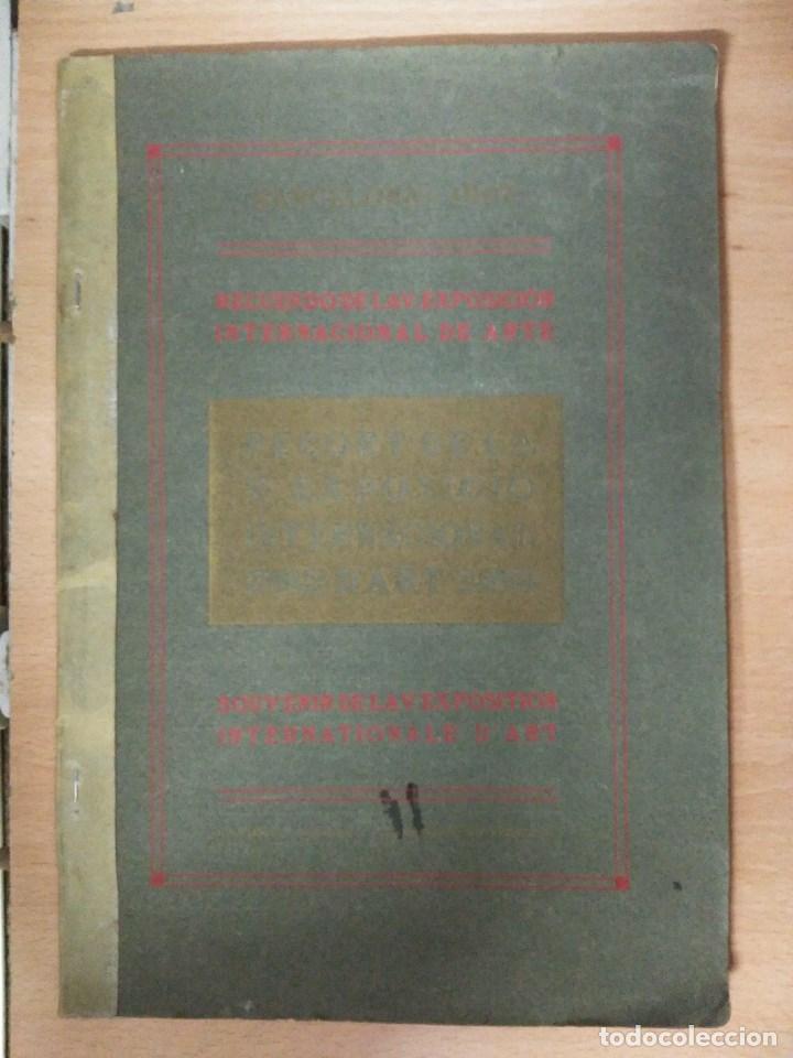 RECORD DE LA EXPOSICIÓ INTERNACIONAL D'ART DE BARCELONA 1907 (Libros Nuevos - Historia - Historia del Arte)