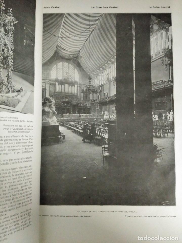 Libros: RECORD DE LA EXPOSICIÓ INTERNACIONAL DART DE BARCELONA 1907 - Foto 4 - 120023775