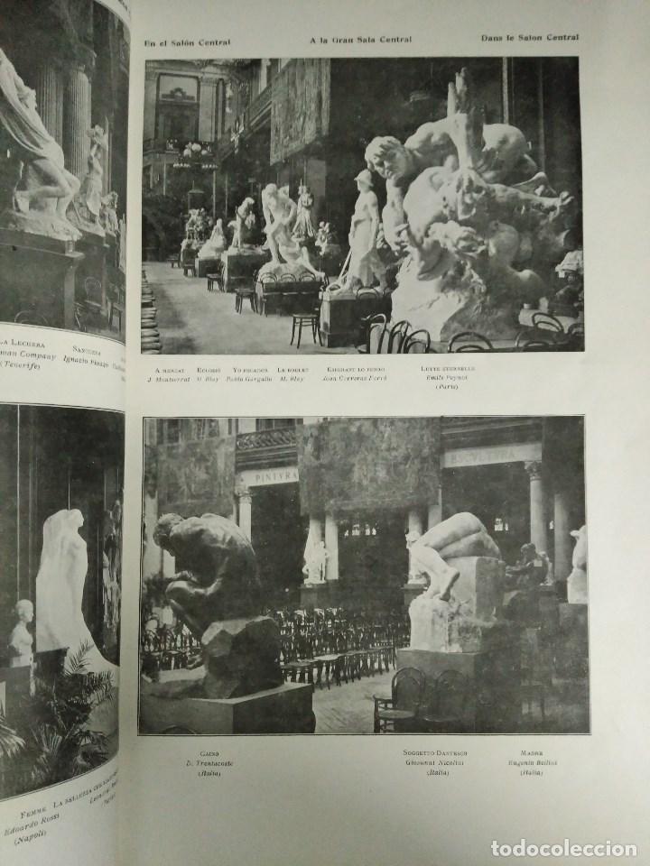 Libros: RECORD DE LA EXPOSICIÓ INTERNACIONAL DART DE BARCELONA 1907 - Foto 5 - 120023775