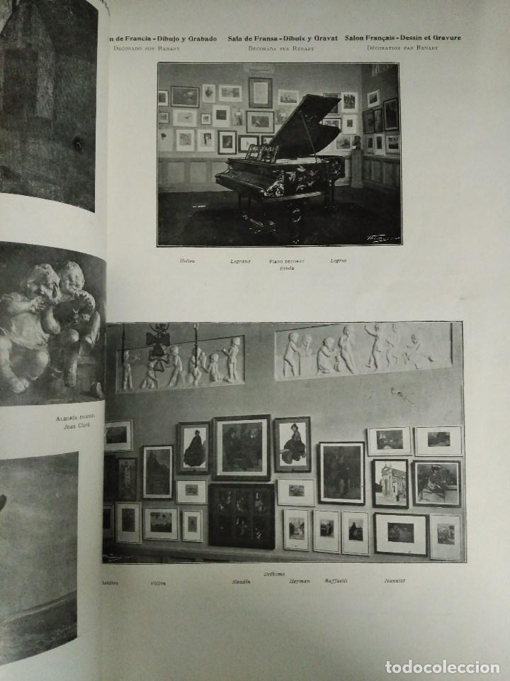 Libros: RECORD DE LA EXPOSICIÓ INTERNACIONAL DART DE BARCELONA 1907 - Foto 7 - 120023775