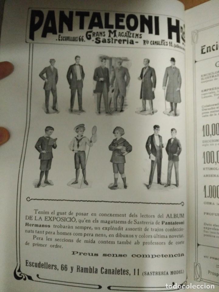 Libros: RECORD DE LA EXPOSICIÓ INTERNACIONAL DART DE BARCELONA 1907 - Foto 9 - 120023775