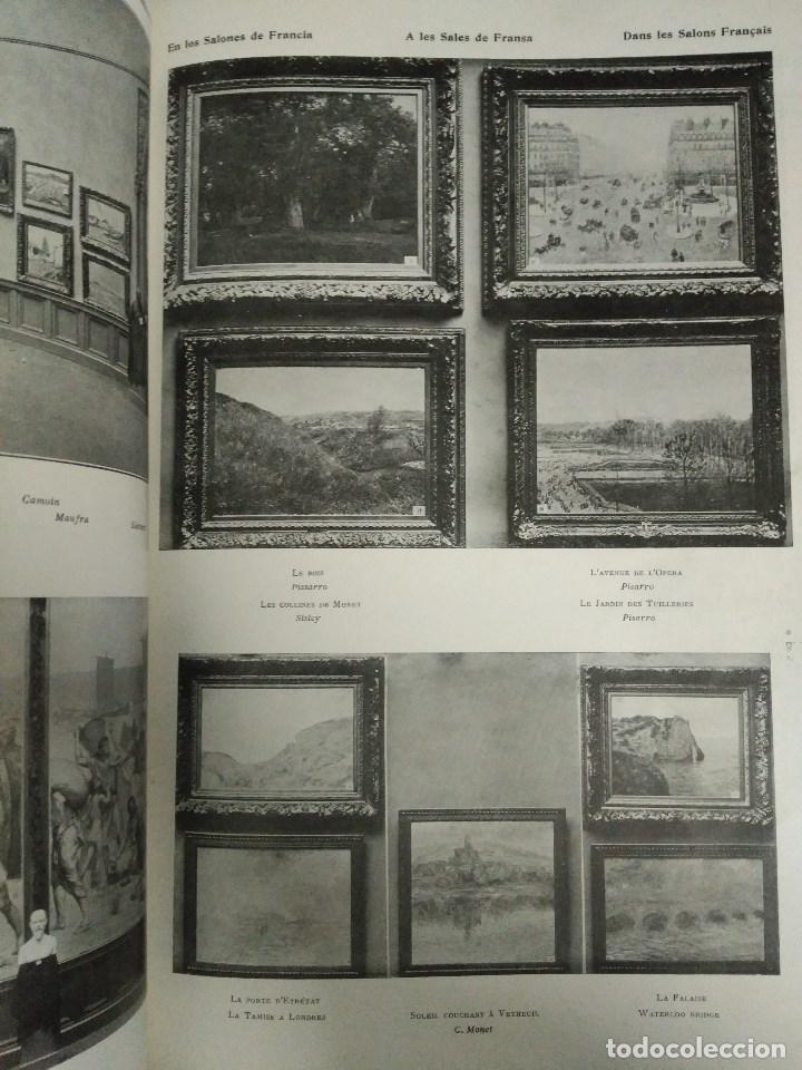 Libros: RECORD DE LA EXPOSICIÓ INTERNACIONAL DART DE BARCELONA 1907 - Foto 10 - 120023775