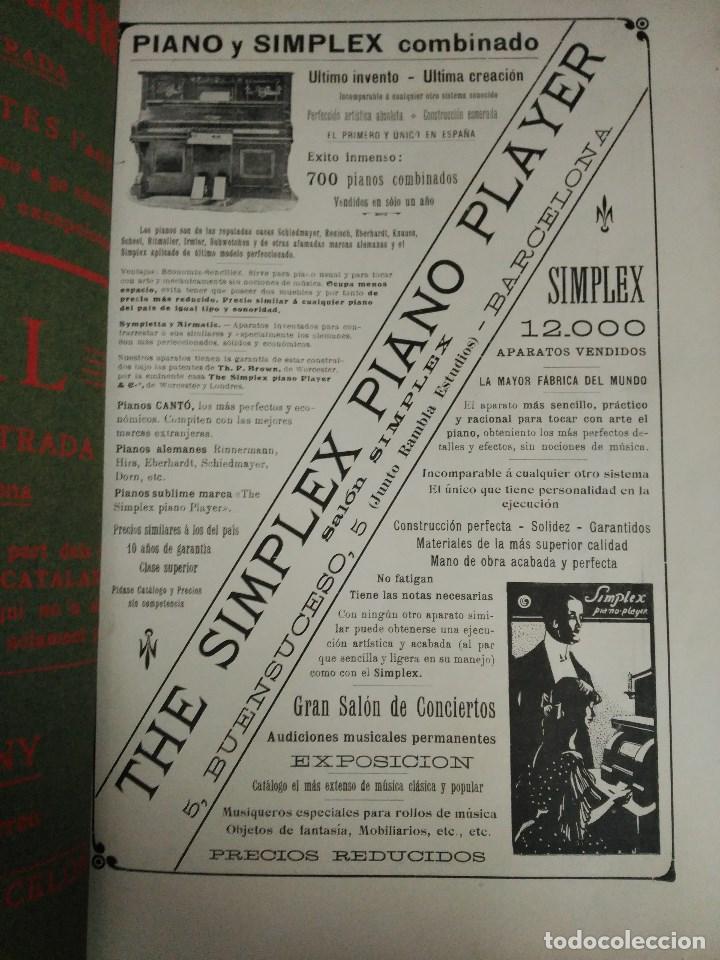 Libros: RECORD DE LA EXPOSICIÓ INTERNACIONAL DART DE BARCELONA 1907 - Foto 12 - 120023775