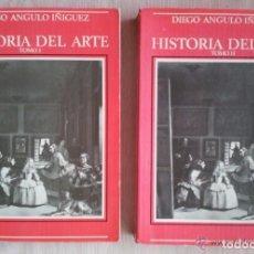 Libros: HISTORIA DEL ARTE - DIEGO ANGULO IÑIGUEZ. Lote 121452383