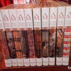 Libros: HISTORIA DEL ARTE UNIVERSAL - RUTAS DEL MUNDO - GRAN ATLAS - RESERVAS DE LA BIOSFERA EN ESPAÑA. Lote 125409307