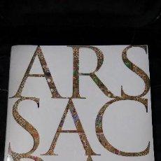 Libros: ARS SACRA EDICION EN INGLES. Lote 127854051