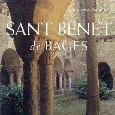 Libros: LIBRO SANT BENET DE BAGES (MANRESA). Lote 130913659