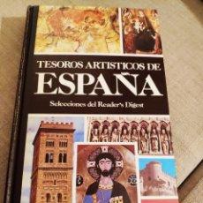 Libros: TESOROS ARTISTICOS DE ESPAÑA. Lote 131957373