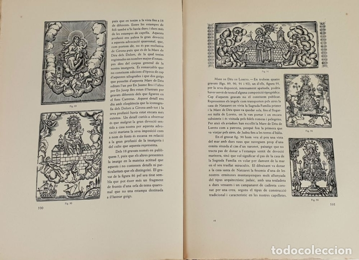 Libros: XILOGRAFIES GIRONINES. JOAN AMADES. EDIT. J.M. GIRONELLA. 2 VOL. 1947-1948. - Foto 2 - 133220002