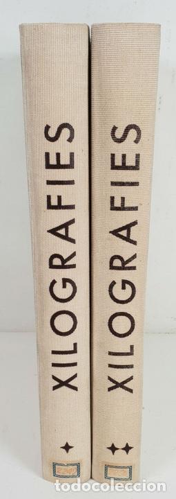 Libros: XILOGRAFIES GIRONINES. JOAN AMADES. EDIT. J.M. GIRONELLA. 2 VOL. 1947-1948. - Foto 3 - 133220002