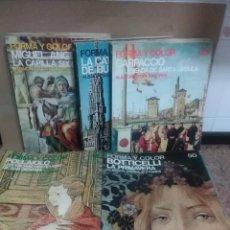 Libros: 56 REVISTAS FORMA Y COLOR . Lote 133584674