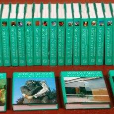 Libros: COLECCIÓN COMPLETA -ARTISTAS GALLEGOS- ED. NOVA GALICIA. Lote 136334254