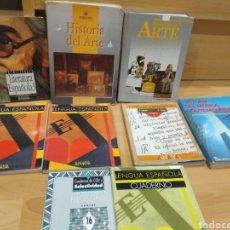 Libros: LOTE DE LIBROS HISTORIA DEL ARTE ,LENGUA ESPAÑOLA ,COU Y BACHILLER. Lote 141933612