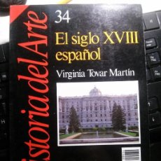 Libros: EL SIGLO XVIII ESPAÑOL, VIRGINIA TOVAR MARTÍN. Lote 144214886