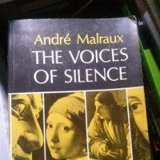 Libros: THE VOICES OF SILENCE, ANDRÉ MALRAUX, PRINCETON BOLLINGER. Lote 150093278