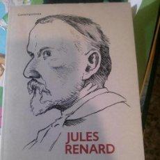 Libros: JULES RENARD DIARIO 1887-1910. Lote 152141038