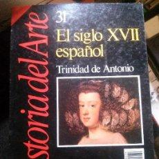 Libros: EL SIGLO XVII ESPAÑOL TRINIDAD DE ANTONIO. Lote 152152722