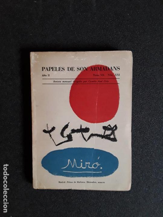 MIRÓ JOAN. PAPELES DE SON ARMADANS. NÚMERO EXTRAORDINARIO DEDICADO A MIRO. 1957 (Libros Nuevos - Historia - Historia del Arte)