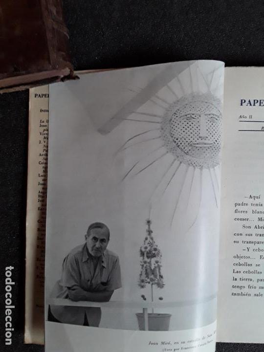 Libros: Miró Joan. Papeles de son armadans. Número extraordinario dedicado a Miro. 1957 - Foto 3 - 155556442